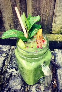 healthy nutritious protein shake