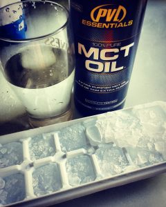 mct oil ice