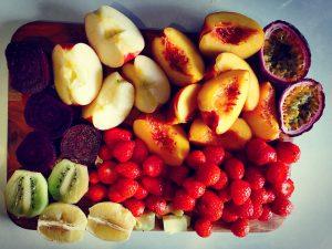 cut fruit veg