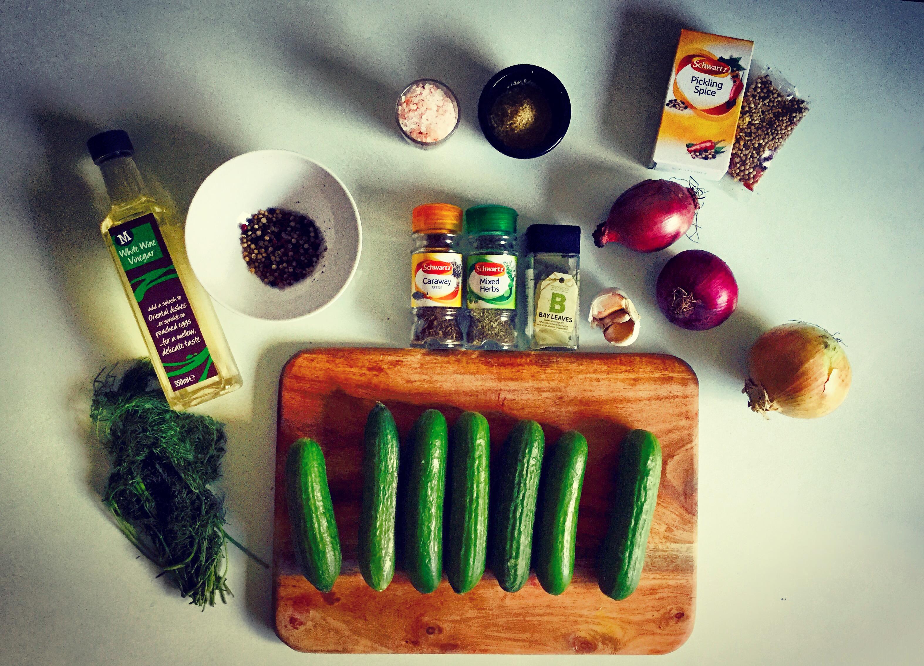 quick gherkin pickles