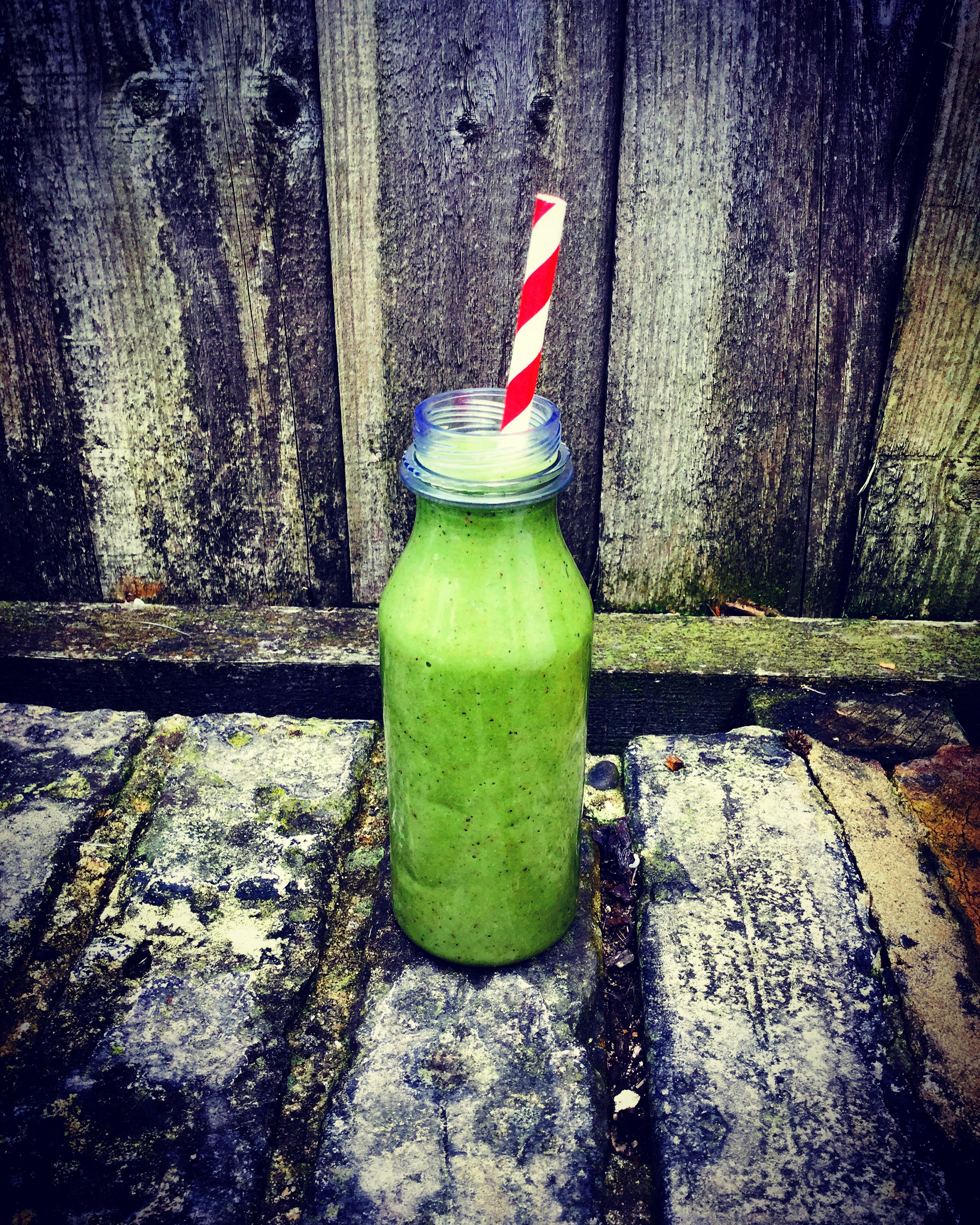 A delicious smoothie from leftover fruit and veg