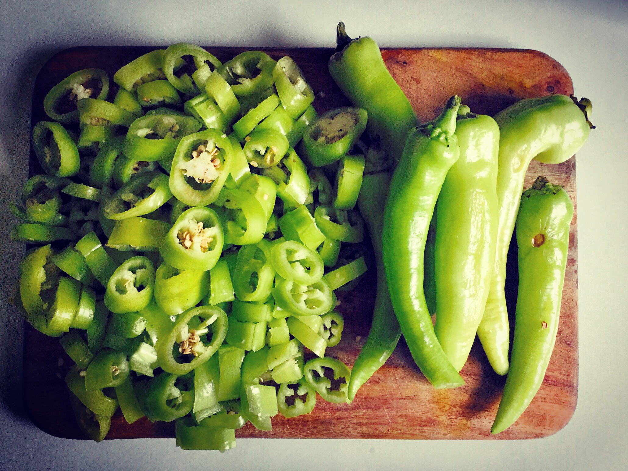 Quick and easy fermented peppers recipe